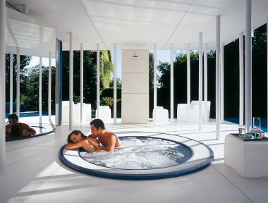 People enjoying their Jacuzzi hot tubs