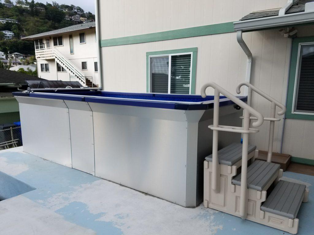 Panel Built Pool